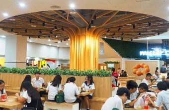 2018 06 30 105140 - 新時代購物中心美食街全新改版,大樹座位底下好多人乘涼,還有麥當勞、稻村麵包等近20家知名餐飲進駐~