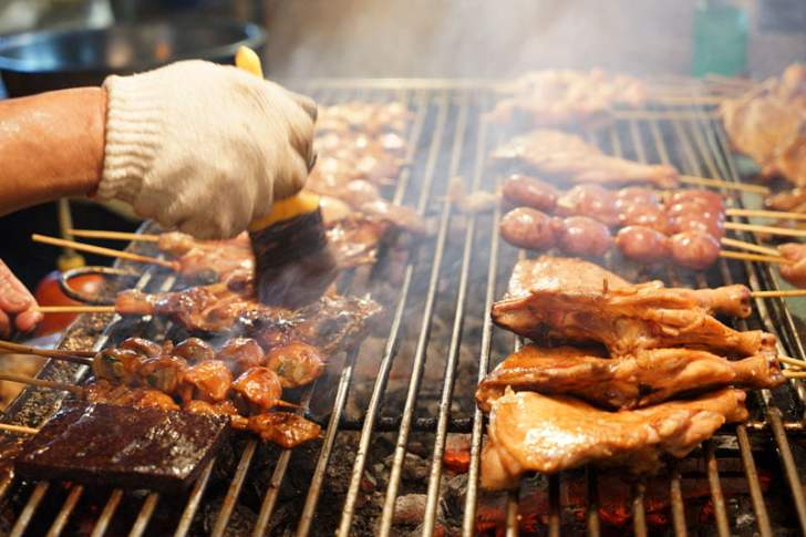 2018 09 15 171909 - 烏日觀光夜市│正統烤肉一周營業三天,每天都不同人烤