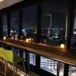 熱血採訪│凱度高空咖啡館,隱藏在高樓大廈裡的夜景咖啡,百元有找,談生意、約會好地方