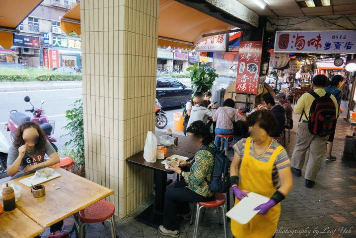 2019 02 02 232421 - 台北陳記專業蚵仔麵線搭配李家現烤黑豬肉香腸,萬華小吃這樣配也很妙