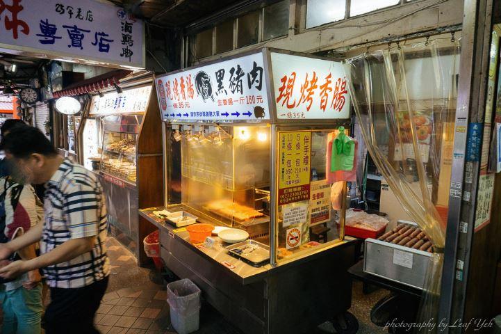 2019 02 02 232554 - 台北陳記專業蚵仔麵線搭配李家現烤黑豬肉香腸,萬華小吃這樣配也很妙
