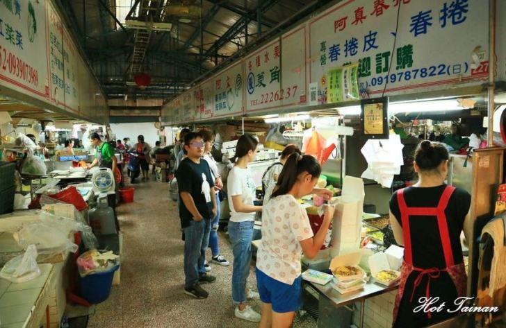 台南東菜市超人氣排隊春捲:阿真春捲