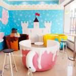 711后旺門市,粉嫩色夢幻咖啡杯座來囉,你喜歡哪一個