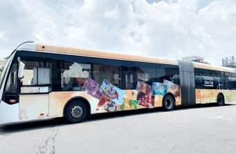 2019 08 18 095134 - 全國首輛迪士尼主題彩繪雙節公車在台中 8/24還有拍照打卡快閃活動