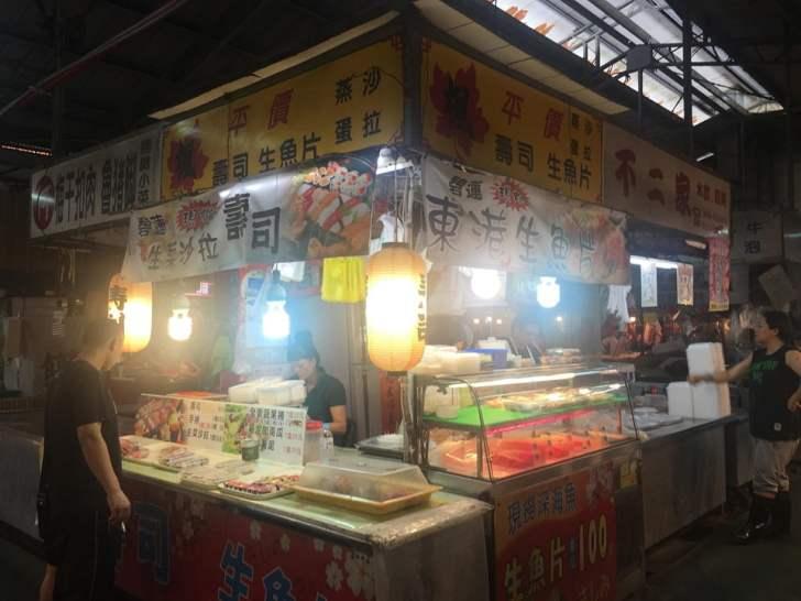 2019 09 02 151633 - 北平路黃昏市場美食,壽司、烤鴨、滷味都在這