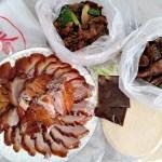 藝香脆皮烤鴨|近北平黃昏市場,一鴨三吃炒鴨風味多,醬爆、清炒、三杯、鹽酥,皮脆油豐肉鮮嫩