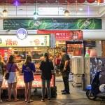 李林烤肉之家,每串均一價14元的平價串燒,半夜1點也能吃得到!