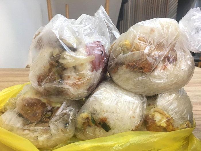 2020 10 06 222603 - 陝西路無名飯糰│料多實在一顆超飽滿,媽媽味的古早味飯糰