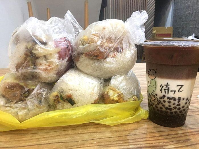 2020 10 06 222605 - 陝西路無名飯糰│料多實在一顆超飽滿,媽媽味的古早味飯糰
