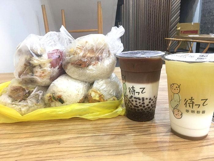 2020 10 06 222610 - 陝西路無名飯糰│料多實在一顆超飽滿,媽媽味的古早味飯糰