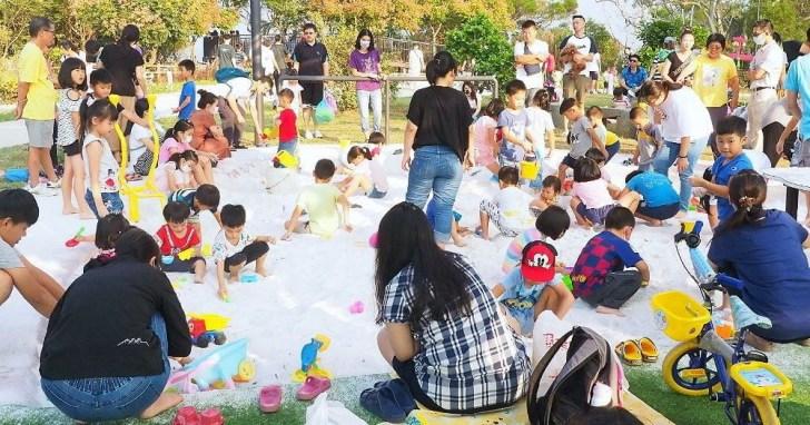 2020 10 14 223505 - 雕塑公園新增溜滑梯、沙坑、爬網等設施,假日時刻家長們溜小孩的好去處~