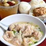 肉包配餛飩湯,台中必吃早餐,傳承三代的老店,僅此一家絕無分店!