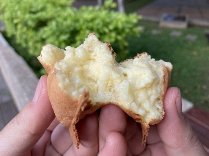 2020 12 12 164936 - 西屯區雞蛋糕|逢甲公園旁的炸彈脆皮雞蛋糕,雞蛋造型一咬就爆餡~