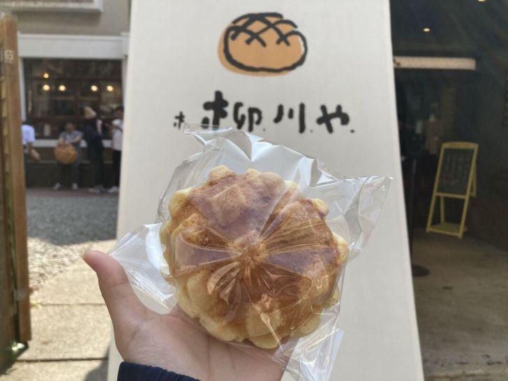 2021 02 27 165902 - 西區甜點 網封最可愛的麵包店柳川 や,巨大菠蘿麵包好吸睛,日系老宅飄出陣陣麵包香