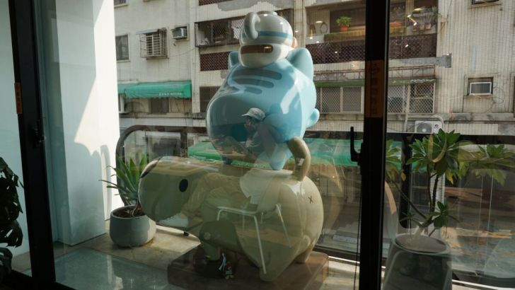 2021 03 31 020317 - 透天白色奶泡貓咖啡館好好拍,咖波迷快來找奶泡貓一起喝下午茶!