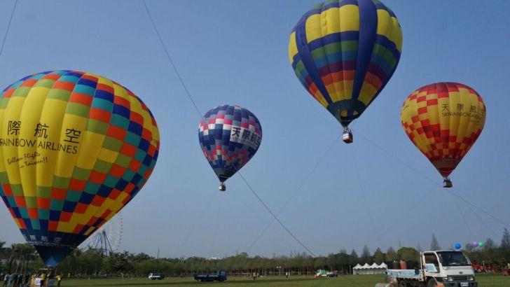 2021 04 02 232851 - 台中也有熱氣球!繽紛療癒好好拍,還可體驗熱氣球繫留,從天空俯視整座城市