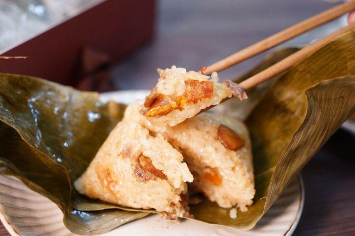 2021 05 23 190830 - 熱血採訪|遇到疫情人力短缺包不出來,台中烏魚子肉粽限量販售,滿單再送野生烏魚子!
