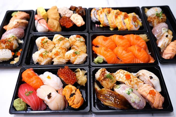 2021 06 06 184643 - 熱血採訪│台中外帶握壽司餐盒5折起!悶太久偶爾也想要吃份壽司阿
