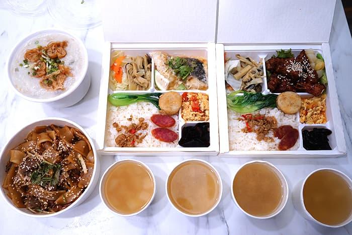 2021 07 11 011743 - 熱血採訪│期間限定梅香焗子排餐盒,一次8種配菜超豐富,外帶自取送飲料,就在鴻龍宴