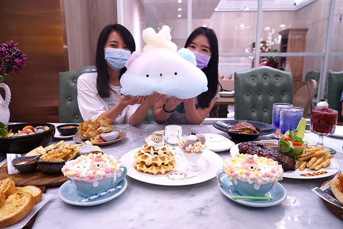 2021 09 24 031329 - 熱血採訪│台中巨無霸熊熊棉花糖!比臉還大,當月壽星限定四人套餐送慕斯蛋糕