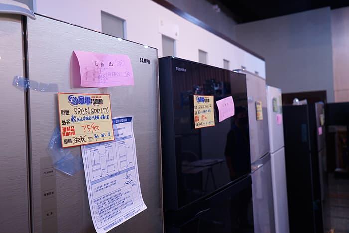 2021 09 26 204214 - 熱血採訪│來台中太多次原以為會沒什麼人的家電特賣會,沒想到超多冰箱都完售耶
