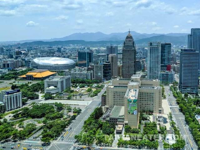 Taipei 101 35th floor view