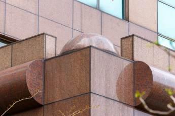 台灣 B3 & B4交易廣場 仿石材 琺瑯板