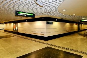 TECO Vitreous Enamel Panels in SMRT Outram Park Station