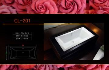 壓克力浴缸 - CL-201