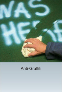 TECO Vitreous Enamel Panel Anti-Graffiti Demo Image