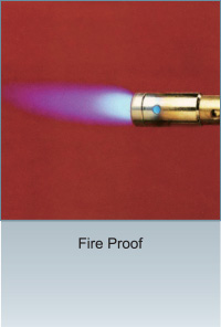 TECO Vitreous Enamel Panel Fire Proof Demo Image