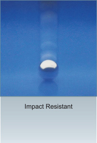 TECO Vitreous Enamel Panel Impact Resistance Demo Image