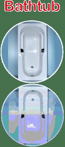 Enamel Panel Bathtub Image