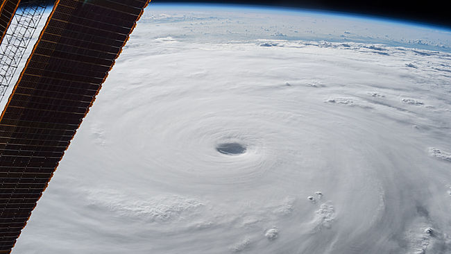 Typhoon Soudelor photographed from the International Space Station on Aug. 4, 2015, NASA.