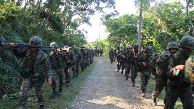 ROC 99th Marine Brigade on 250km march December 2016