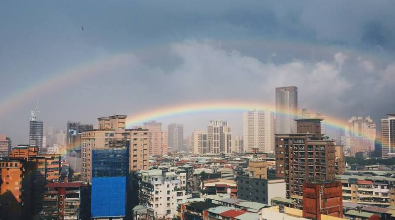 double rainbow New Taipei City
