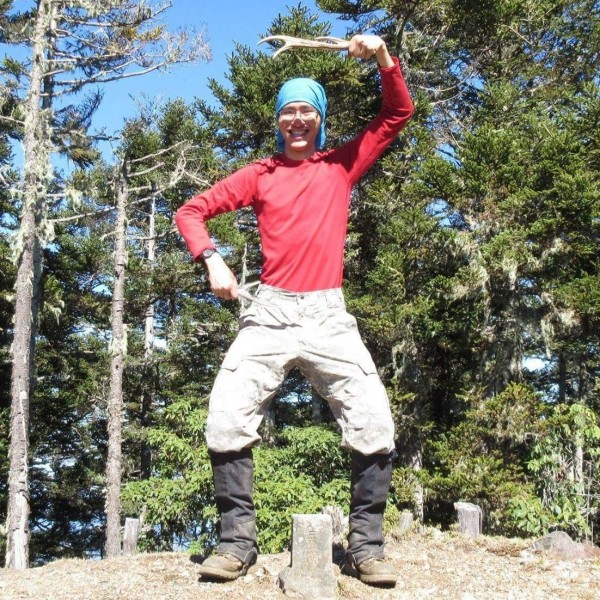 missing hiker Lee picture from his Facebook page