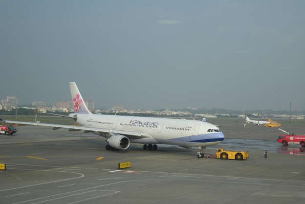 china airlines aircraft
