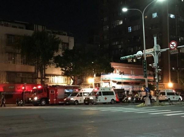 fire in Shihlin apartment