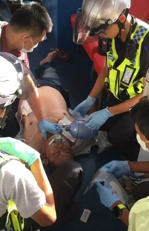 paramedics and patient during cpr