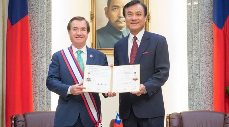 Ed Royce presented with honors