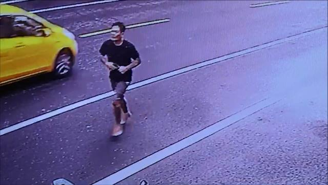 suspect fleeing from police