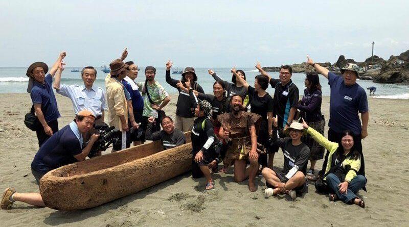 dugout canoe in Taitung County, Taiwan