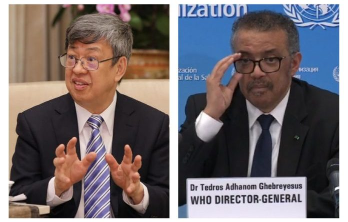 Chen Chein-jen-vs-Tedros-of-the-WHO