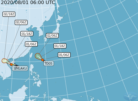 tropical depression may be named tropical storm Hagupit