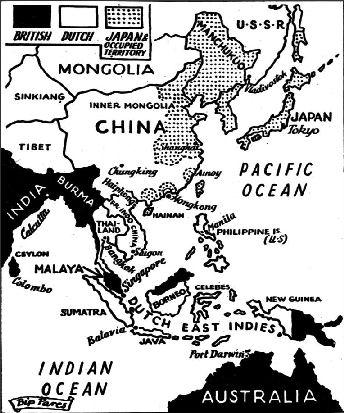 外國報導日本侵略中國領土的佔據地圖
