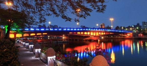高雄愛河 Love River, Kaohsiung, Taiwan
