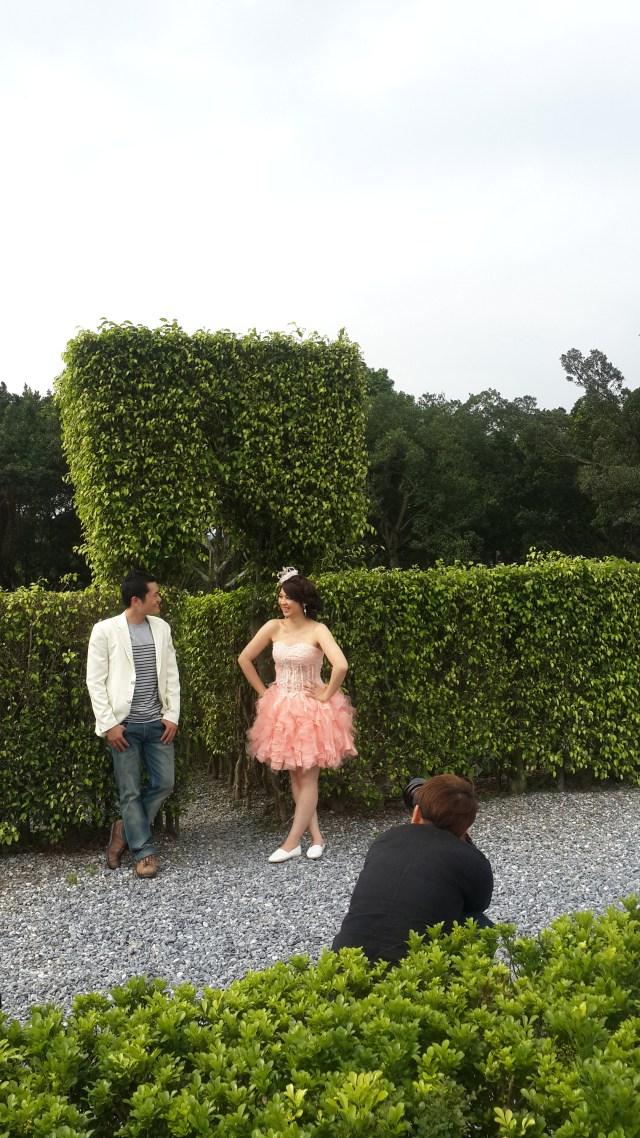 拍攝花絮 婚紗攝影 自助婚紗 造型設計