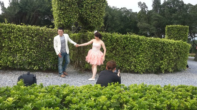 2014-06-13 拍攝花絮 婚紗攝影 自助婚紗造型設計