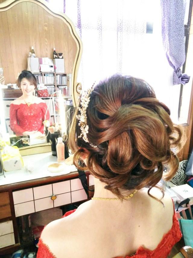 台北新娘秘書,新秘千越,新娘文定儀式造型 新娘秘書價格,新娘秘書ptt